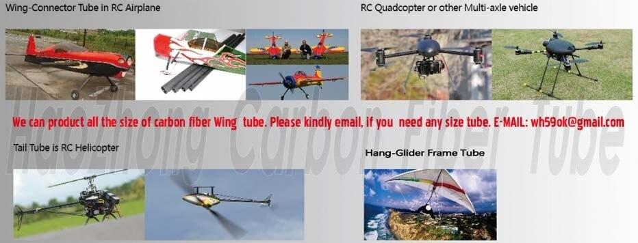 * 500mm superfície mate para rc quadcopter 19*16
