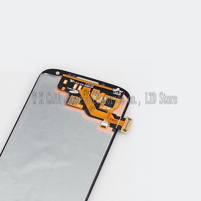 оригинал для samsung галактики S4 i9500 с / і337купленный / i545 / l720 с / с m919 жк-дисплей датчик экран планшета в сборе белый цвет
