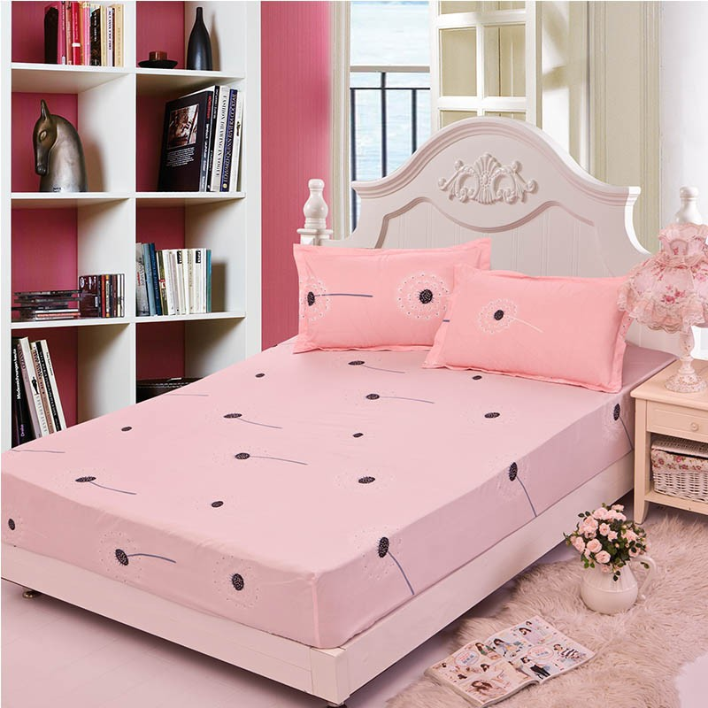 Home textile bed sheet sheet flower mattress cover printing bed sheet elastic rubber bedclothes 180*200cm summer bedspread band 18