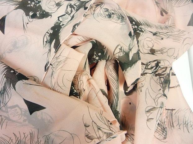 платки, шелк шифон, сексуальный женщины мэрилин монро картина розовый шарф святого валентина подарок sa003b
