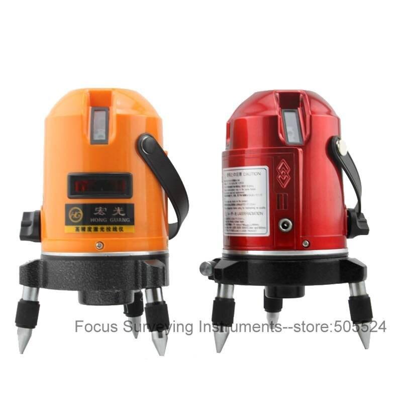 Пятилинейный лазерный уровень/уровень ИК излучения/съемочное оборудование/лазерный уровень Fukuda