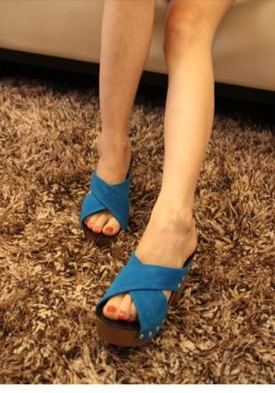 ся цзи песня торт с туфли на высоком каблуке сандалии ступил крест ремень сандалии и тапочки womenzdd008
