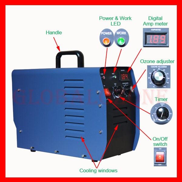 5G Hotel Room Commercial Ozone Generator Room Deodorizer on ...