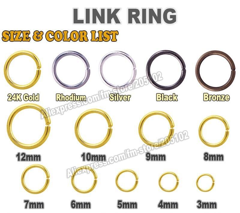 Split Ring Size Chart Erkalnathandedecker