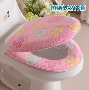бесплатная доставка, утолщение частей туалет плакать пол много видов цветов