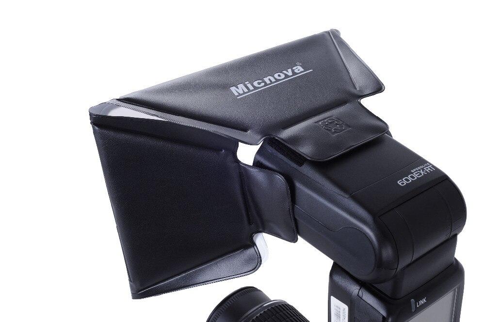 Micnova MQ-B14 קשה אוניברסלי פלאש מפזר Softbox עבור Canon Nikon Sony Gopro מצלמת DSLR מיני מצלמות וידאו פלאש פלאש חיצוני
