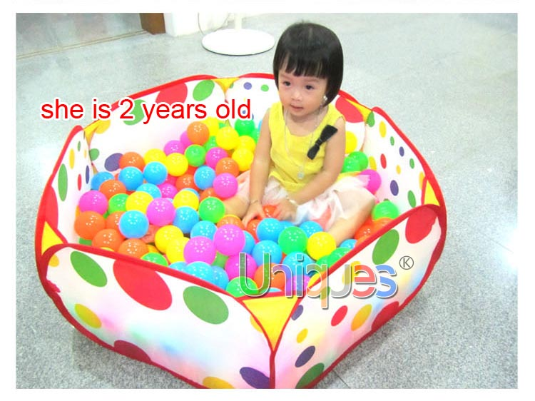 ... 1109480373_1301671572 983159410_130738011133 ...  sc 1 st  AliExpress.com & Kids Ocean Balls Pool Baby Play Tent House Playing Game Toy 1M ...