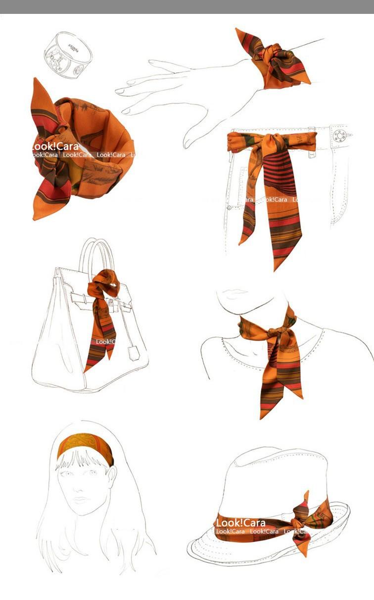 двусторонняя шелк bandeaus лента волос лента твилли сумки рукоятка шелк шарф аксессуары