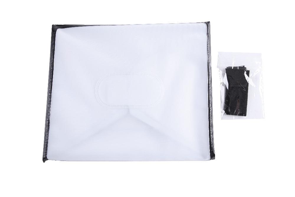 XIT אוניברסלי פלסטיק שחור לבן פלאש מפזר Softbox קנון ניקון סיגמא Pentax Speedlite Flash