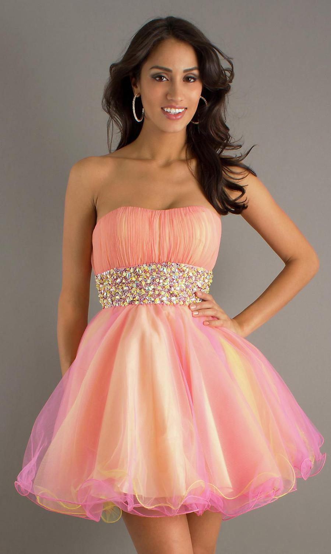 Rainbow Cocktail Dress