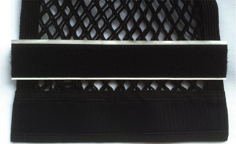 бесплатная доставка багажнике автомобиля чистая с липучкой странка хранения огнетушитель сетка в багажном отделении двойной слой универсальный