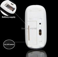 1 пк / супер тонкий 1600 точек / дюйм Bluetooth с 3, 0 беспроводная мышь мыши для планшет украл компьютеров тв Престо умных телефонов