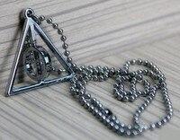 подарок гарри Поттера ожерелье доктор смерти Tip металлические подвески круг движение колон 10 шт. / комплект ювелирные изделия бесплатная доставка