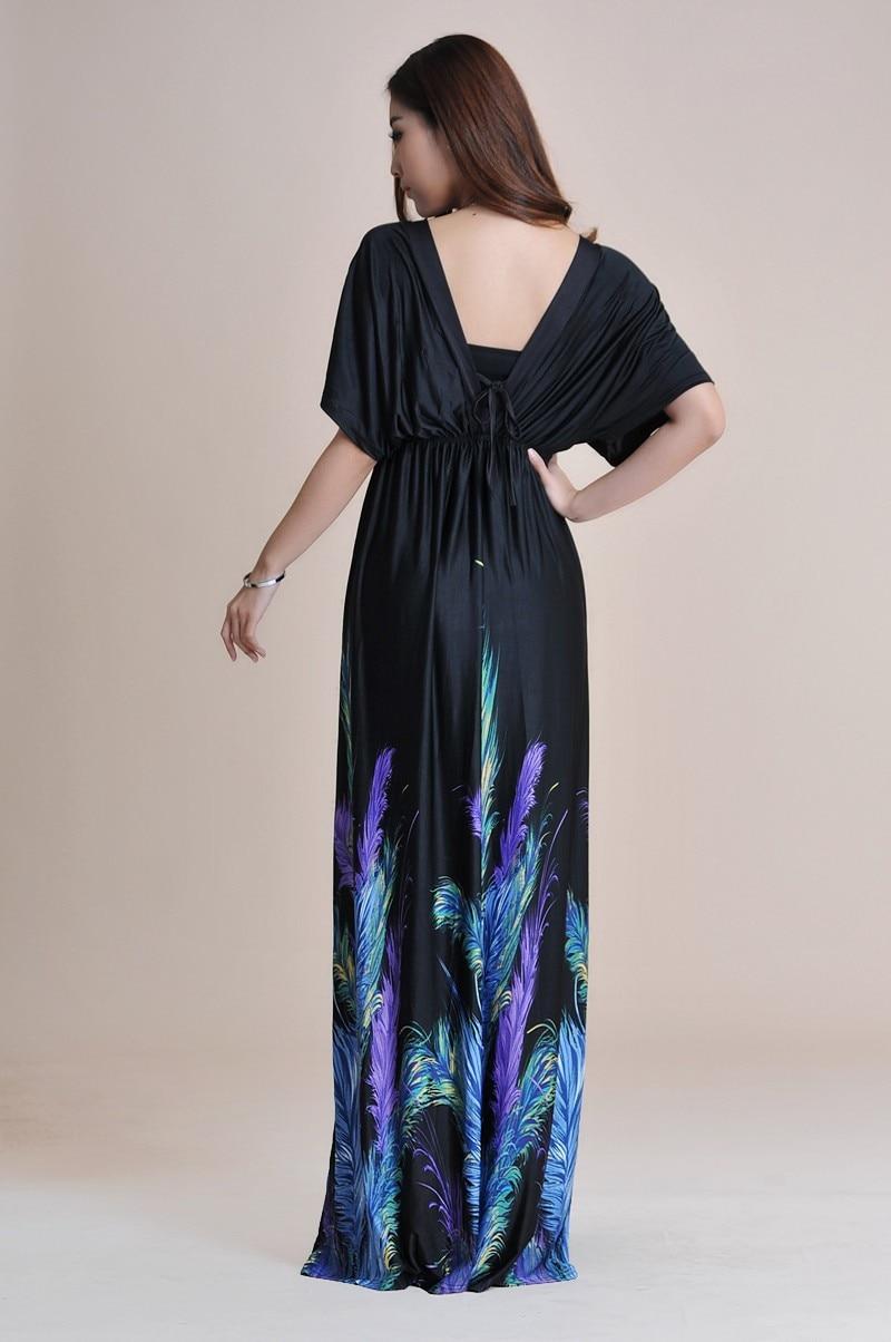 Boho Print Maxi Dress 6XL 3