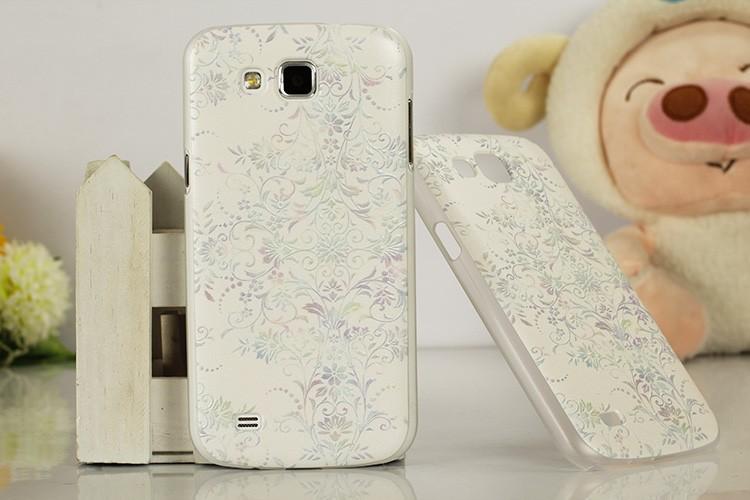 чехол для samsung галактики премьер i9260, 3д relief жёсткая живопись задняя часть чехол телефон