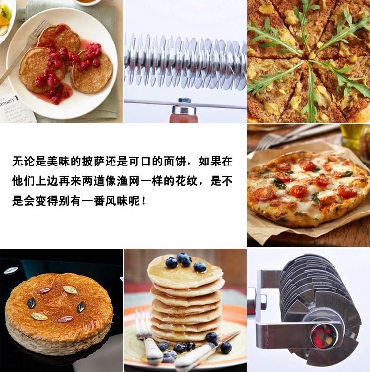 пицца из нержавеющей стали с деревянной ручкой невод выпечки инструменты фрезы плита бесплатная доставка