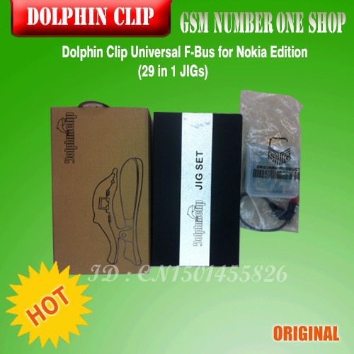 Dolphin Clip Universal F-Bus Nokia Edition (29 in 1 JIGs)-C