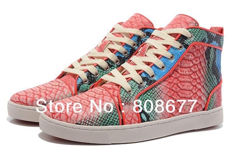 72e6b6458ac Designer Vintage Women   Men Red Crystal Rhinestone Sneakers Flats ...