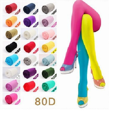 Candy color tights