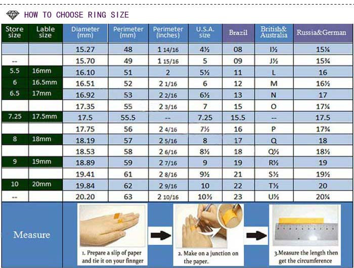 How to choose ring size