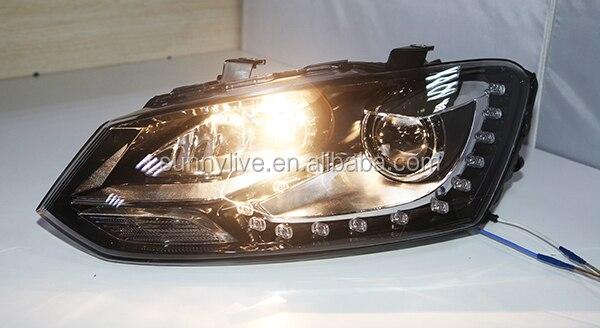 Для VW Polo светодиодный фонарь ангельские глазки 2009-2012 SY