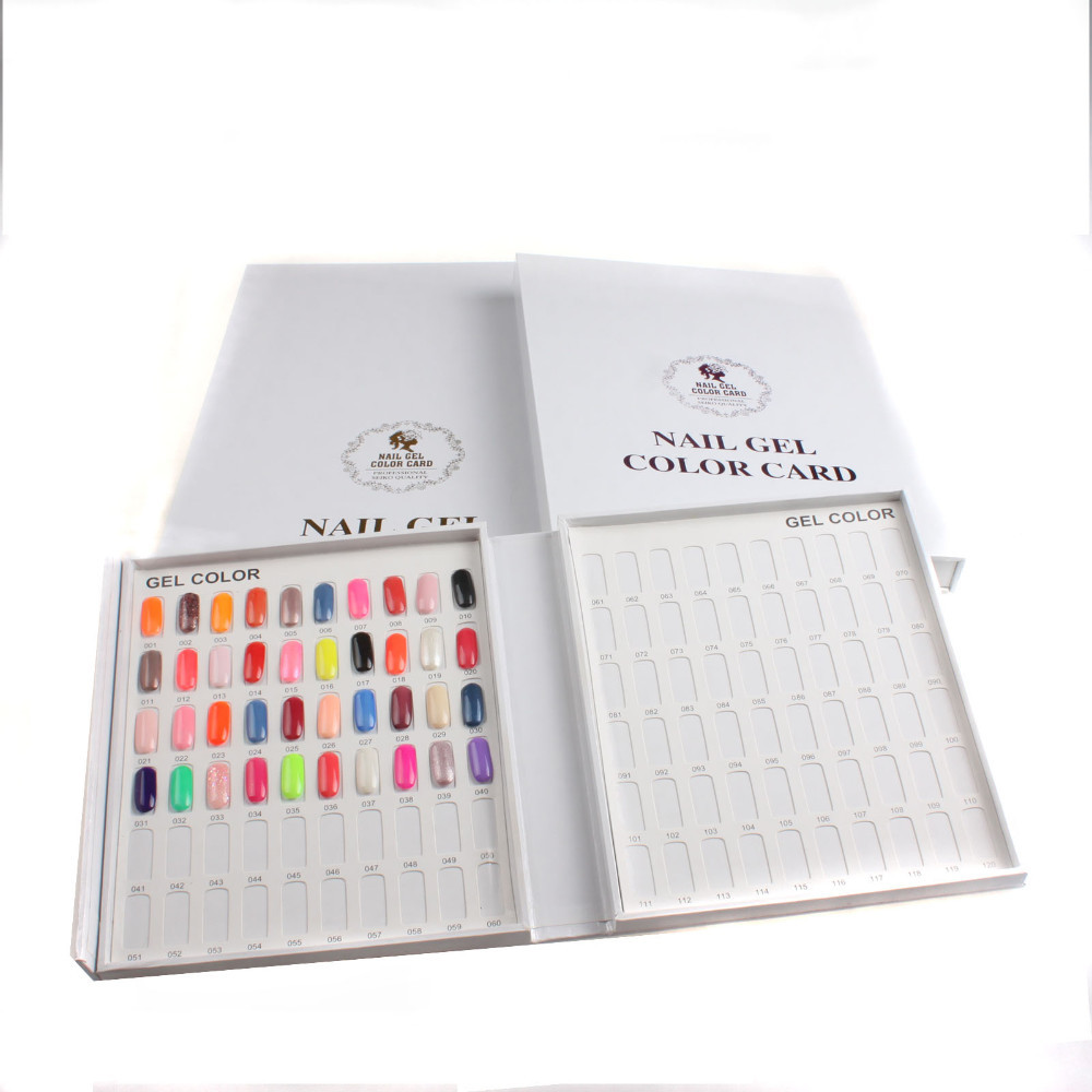 NAIL GEL COLOR CARD-1