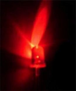 1000 pces 5mm vermelho redondo de alta