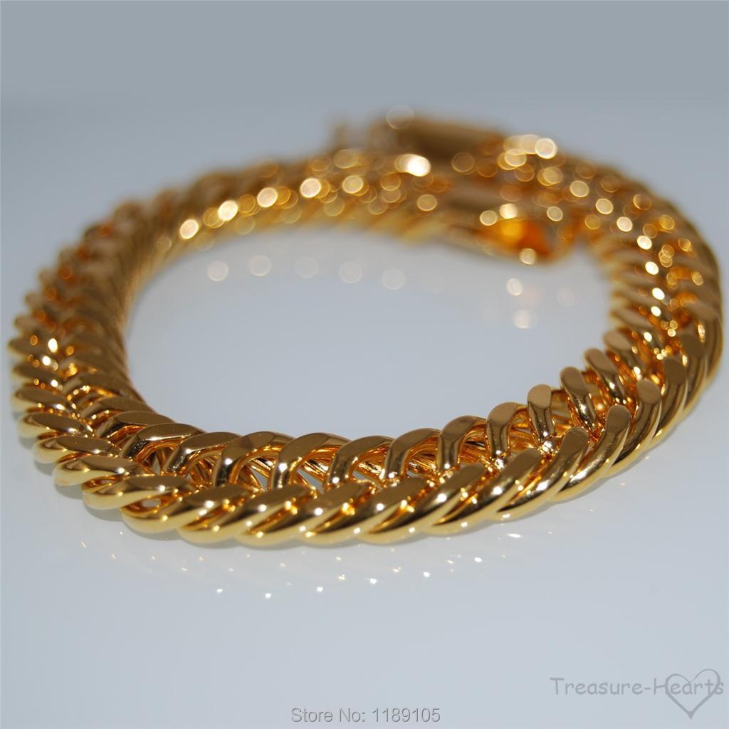 41 40 Description 18k Yellow Gold Filled Bracelet