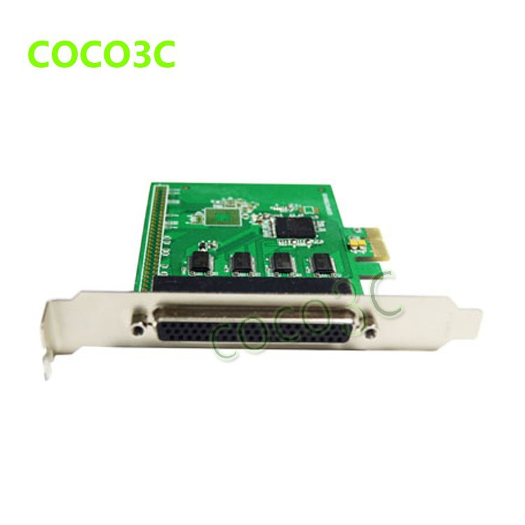 8 Ports Serial PCI Express with fan out cable PCI-e to multi RS232 DB9 Ports converter Industrial IO card