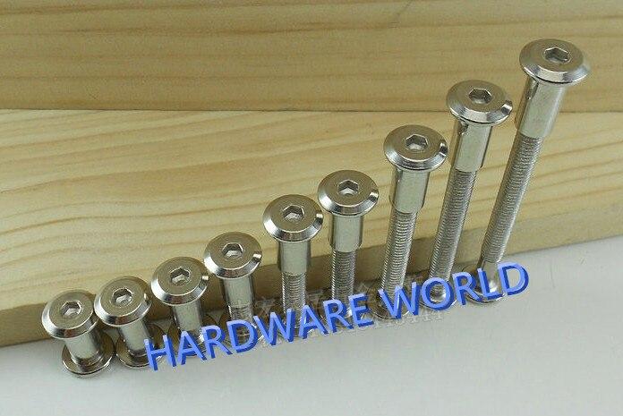 50pcs m6 150 6mmx150 connecting screws hex socket bolts kitchen rh aliexpress com Cabinet Hardware Cabinet Panel Connectors