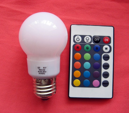 LED RGB colors remote controler1