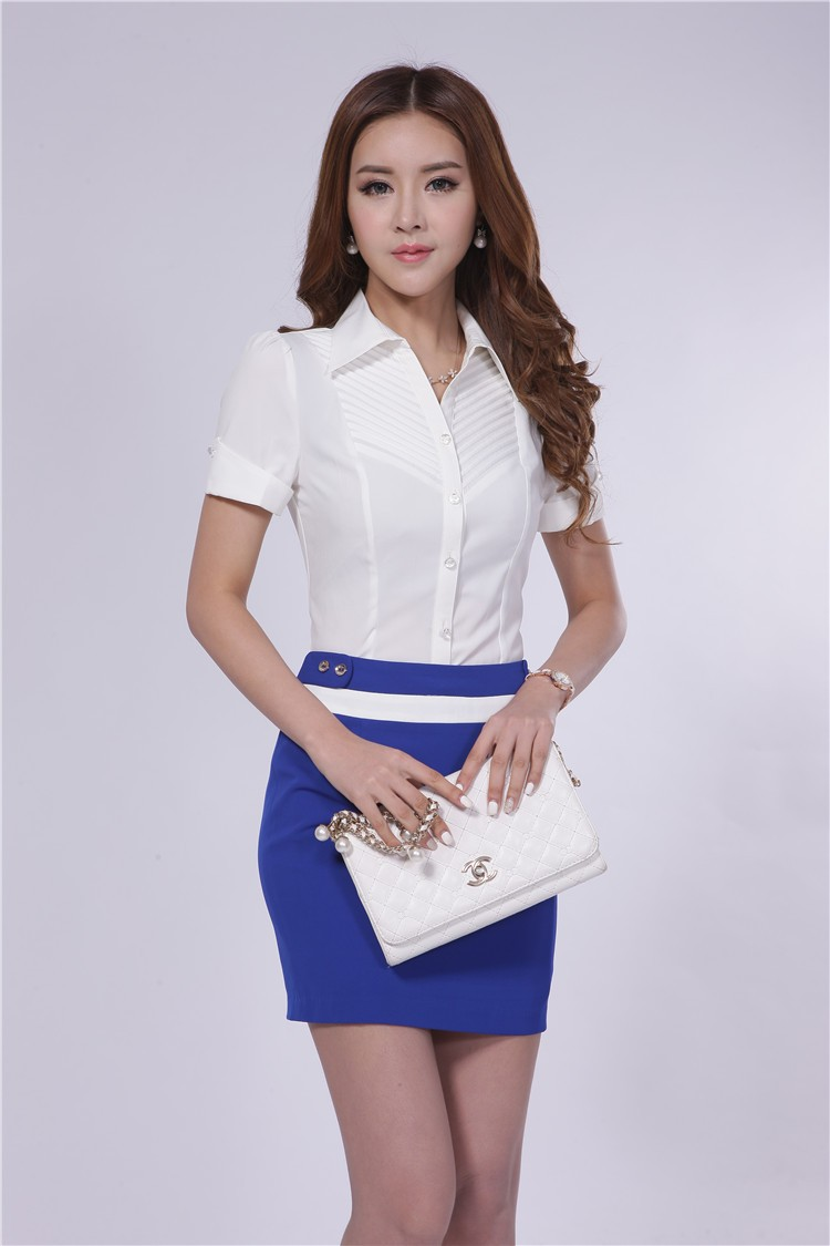 New 2015 Summer Formal Office Uniform Designs Women Work Wear ...