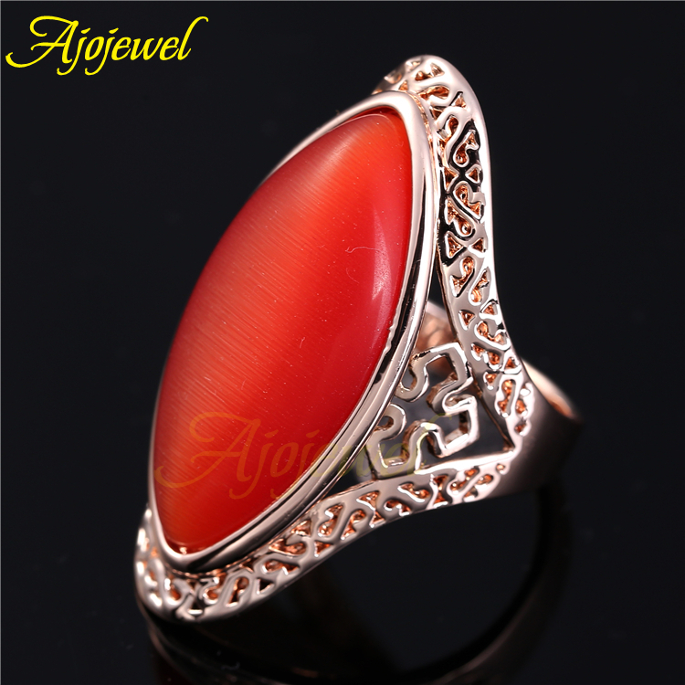 purple and orange rings aliexpresscom buy ajojewel free shipping orange opal jewelry