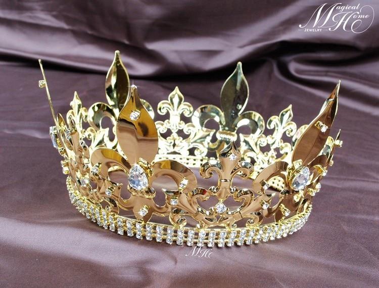 Cheap gold tiara