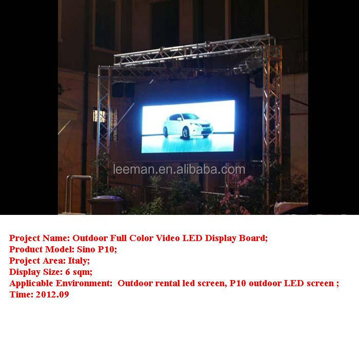 P10 Outdoor Rental LED Screen in Italy-3