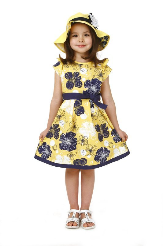 Yellow dresses for girls size 5