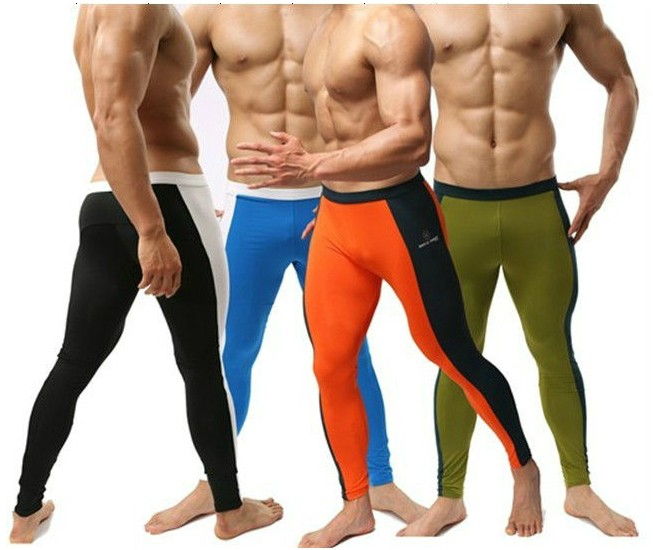 Professional Men Cycling Pants Sport Swimming Body Shape