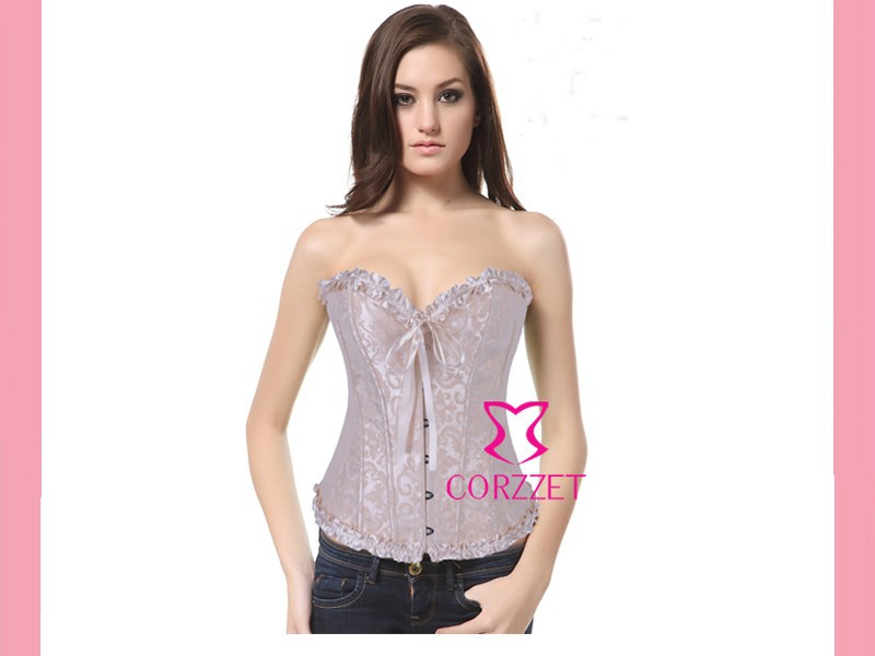 f4a404653 S 2XL Exotic Wedding Bridal Bustier Top Female Push Up Corpete Women ...