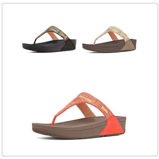 3616b0c7d1 wholesla fashion flip flops flare thong sandals wedges brand summer ...
