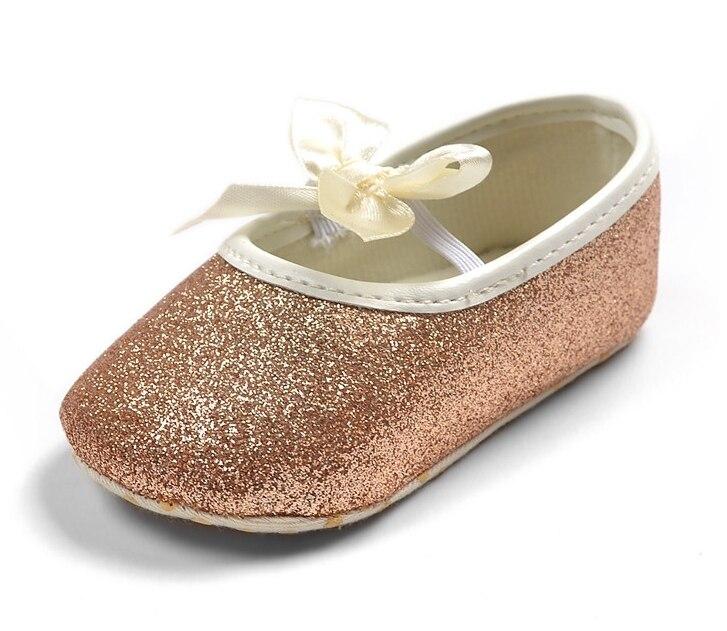 d1ee245d6ea03 Bébé fille princesse Sparkly chaussures bébé mignon princesse or ...