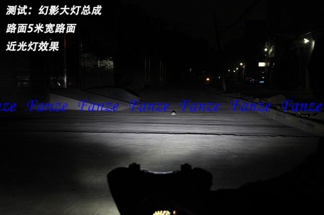 бесплатная доставка новый мотоцикл яркий из светодиодов фары фара электрический велосипед модификации фары свет 15 вт