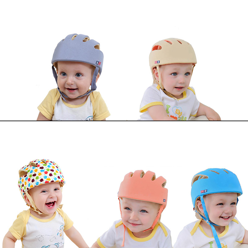 Accessories Careful Cartoon Baby Safety Helmet Soft Head Security Protection Hats Infants Baby Toddler Cap Anti-collision Protective Hat New Arrival