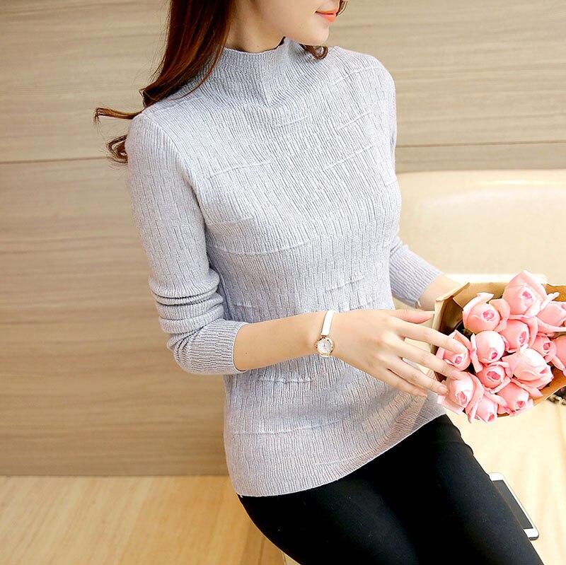 OHCLOTHING HH2323 Coreano Corto suéter color de la camisa femenina 35