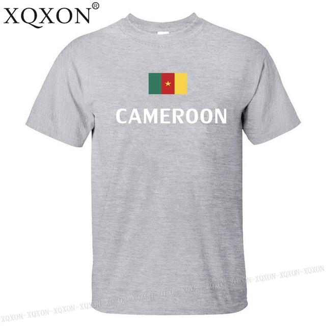 Cameroun conception t-shirt mixte été 2018 1