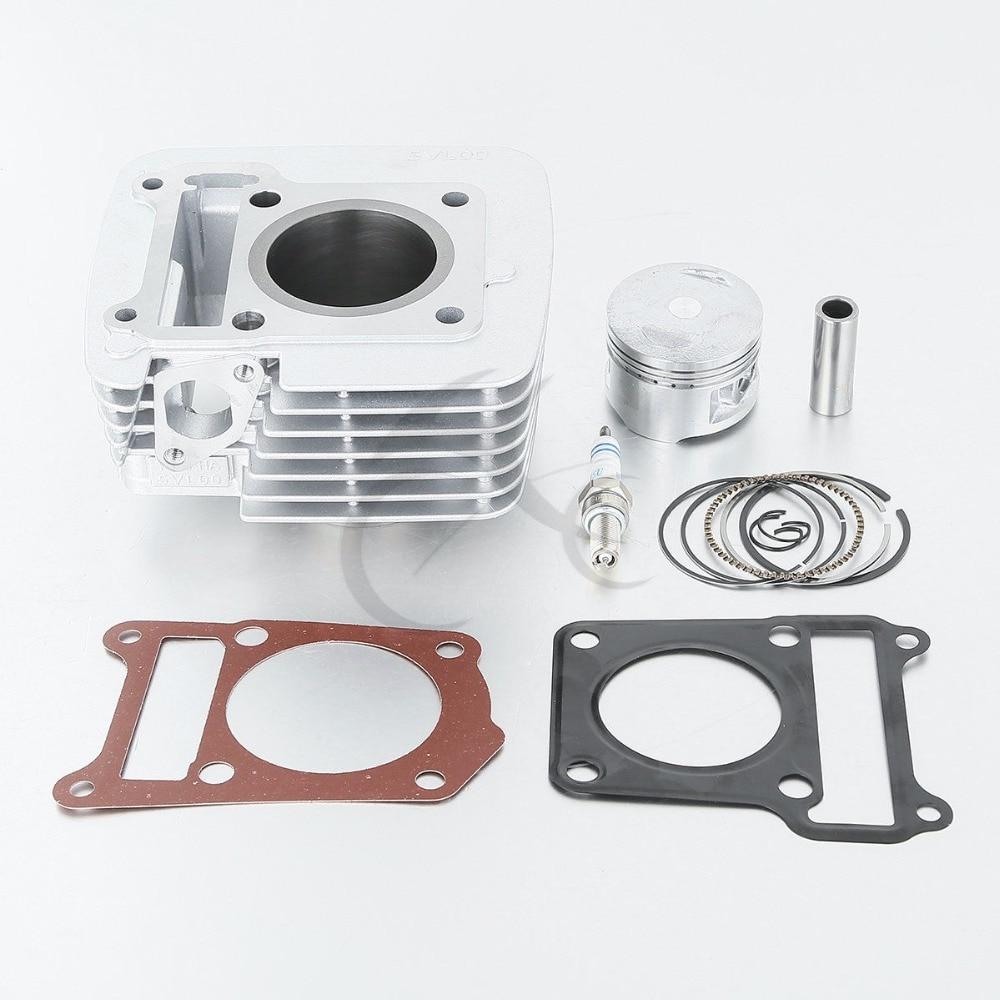 Cylinder Piston Rings Top End Set Kit Fits Yamaha TTR 125 TTR125 TTR-125 2000 2001 2002 2003 2004
