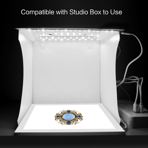 Image 3 - PULUZ מיני 22.5cm LED צילום צללים תחתון אור צל משלוח אור מנורת פנל Pad עבור 20 cm תמונה סטודיו תיבת lightboxs