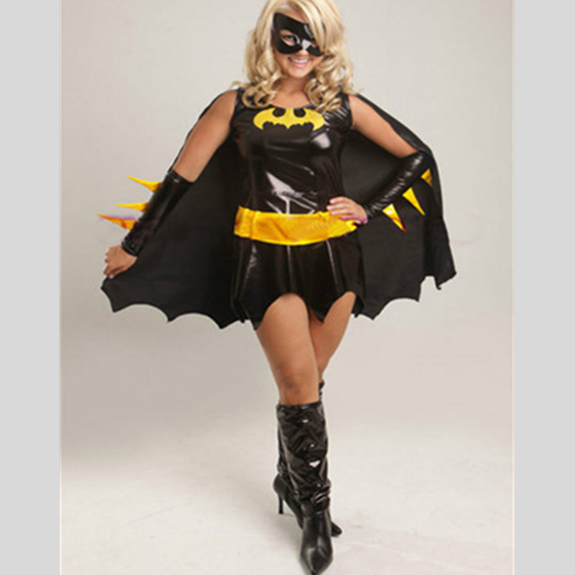 Sexy bat woman costume