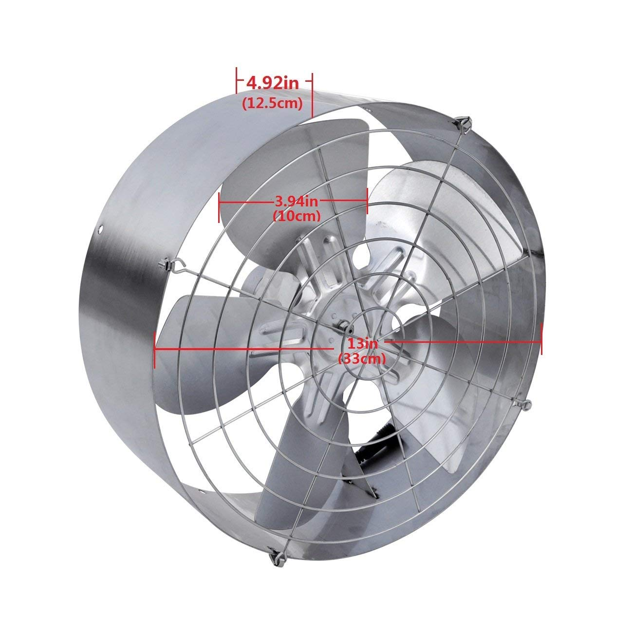 High Flow Vent Fan : High power w solar air cooling vent fan ventilation for