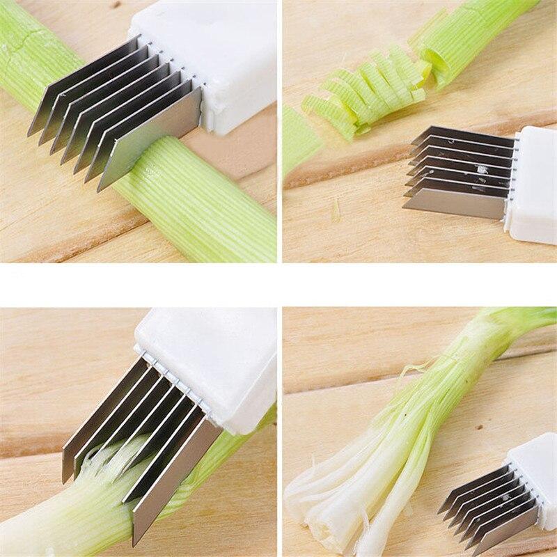 1 StÜck Cut Zwiebel Reiben Zwiebel Messer Das Ganze System StäRken Und StäRken