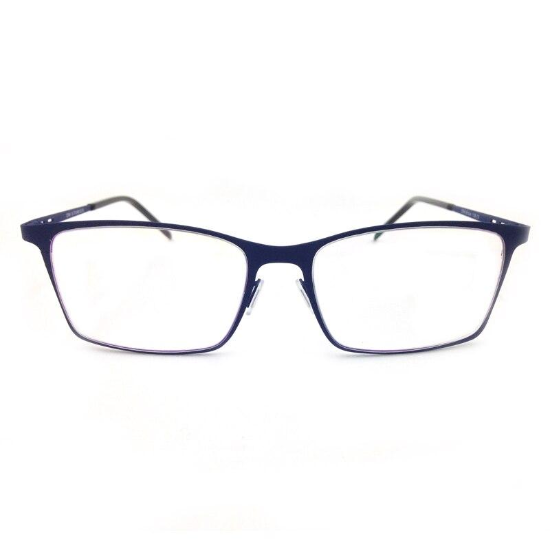 81365c24769 Laura Fairy Fashion Italy Design Men Glasses Black Blue Rubber Coating  Flexible Glasses Frames Optical Frame